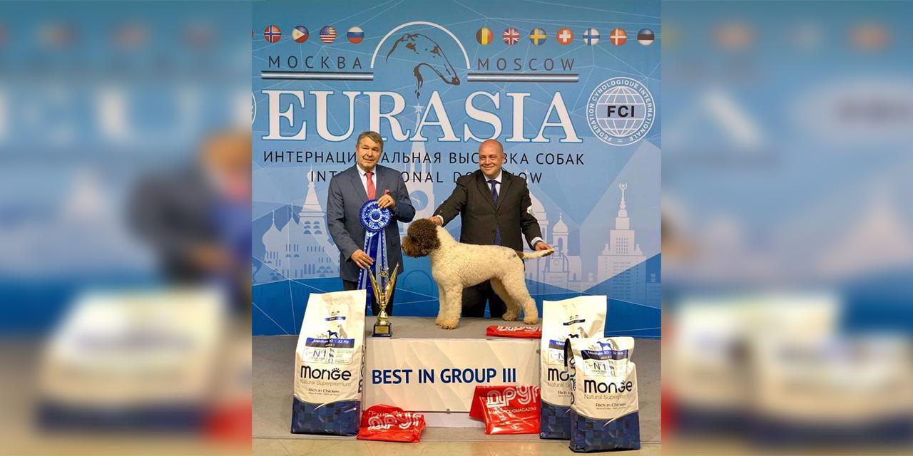ARNOLD DEL PESCHIO VICALE CAMPIONE EURASIA 2019