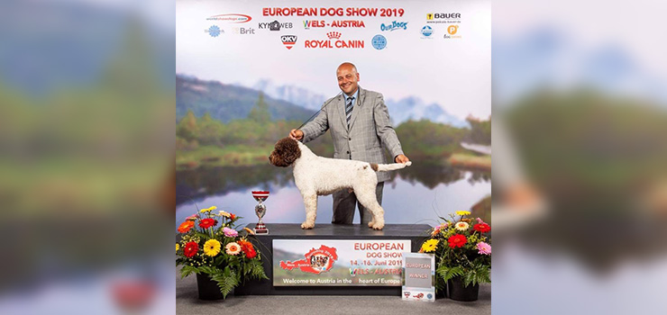 ARNOLD DEL PESCHIO VICALE CAMPIONE EUROPEO AL EDS WELS 2019